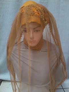 jilbab pesta pengantin