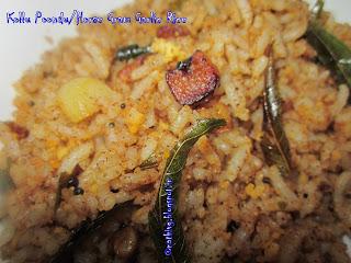 kollu-poondu-satham-horsegram-garlic-rice