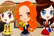 School Game : Three School Cuties
