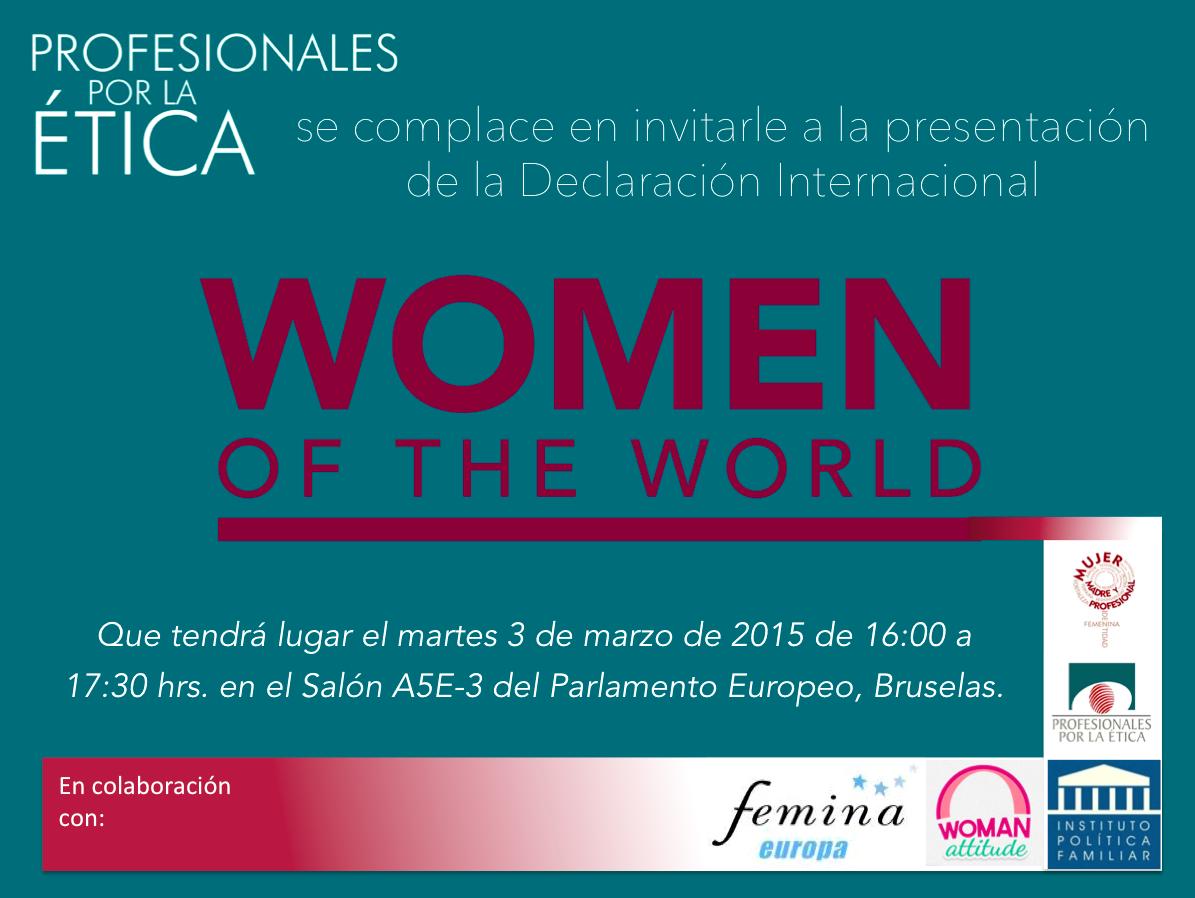 Declaración Women Of the World