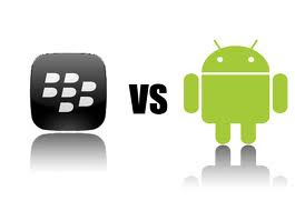 Blackberry VS Android Masih Terus Berlanjut