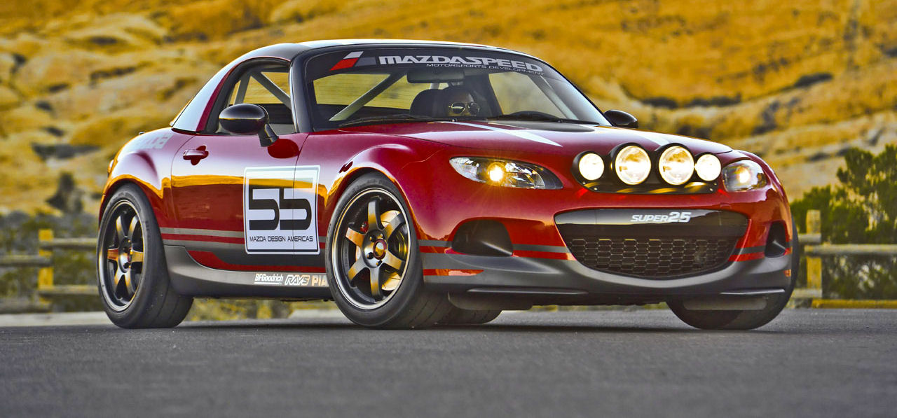 Roadster.Blog: Mazda MX-5 Super25 Concept
