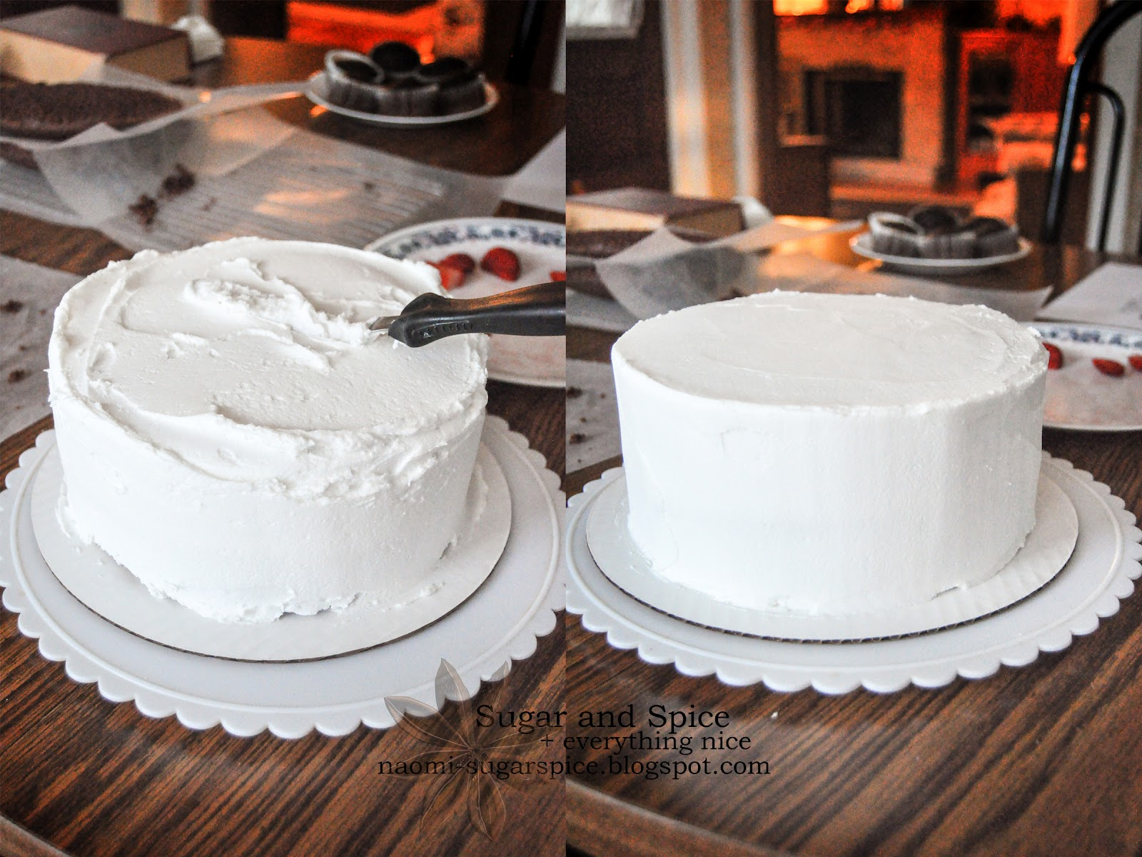 Cake Decorating Without Frosting : NaomiCakes - Easy How-To Food Blog - Baking Blog - Cooking ...