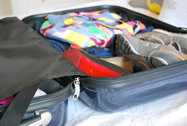 how to pack a carry-on, packing tips, travel, mark & graham carry-on spinner