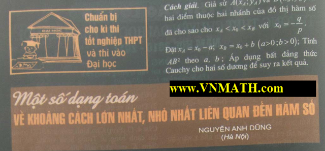 khao sat ham so, de thi dai hoc, khoi a, khoi b, khoi d