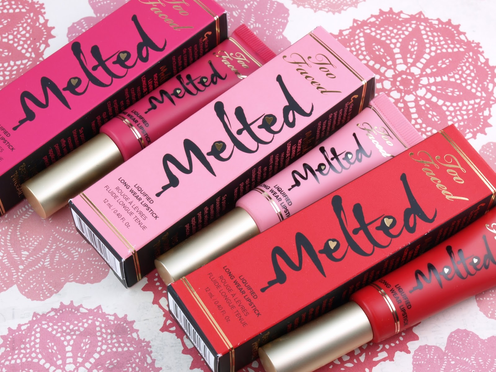 Too Faced Melted Liquified Long Wear Lipstick Animal Friendly Makeup Products-faviana