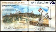 Estela Cameirão - Workshop «Sky Sketcher»