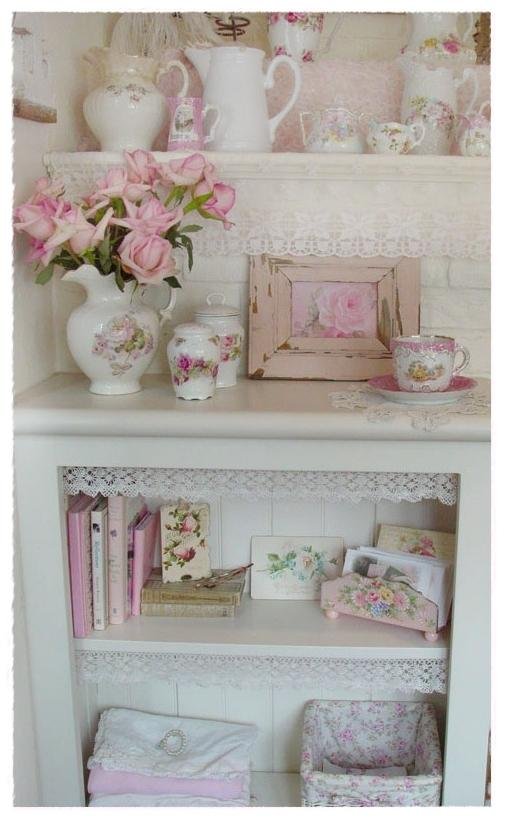 M s que eventos estilo shabby chic para la decoraci n de for Deco cottage chic