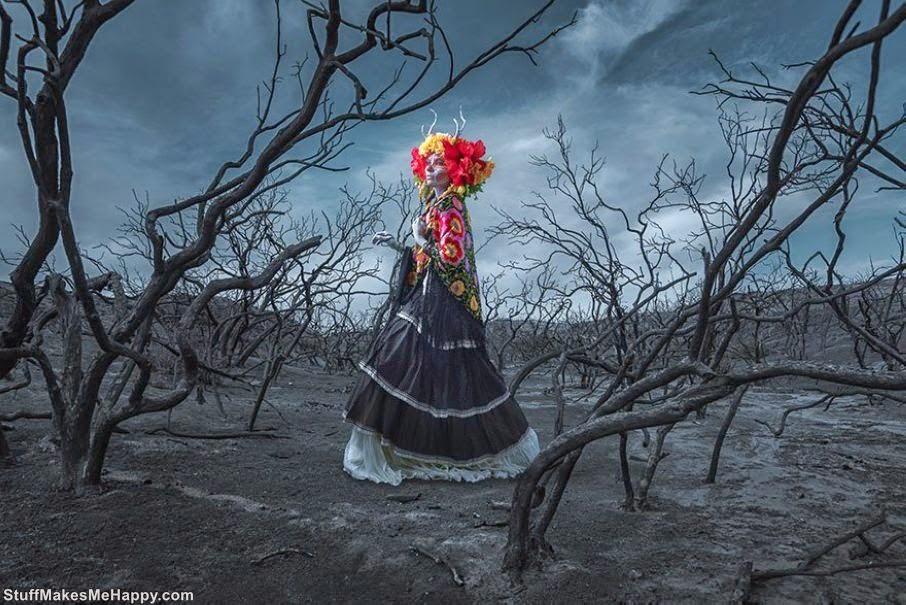 Deadly Beauty of the Goddess of the Underworld in the Photographs of Tim Tadder