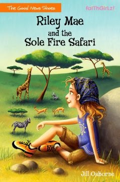 book review of Riley Mae and the Sole Fire Safari by Jill Osborne (Zonderkidz) by papertapepins