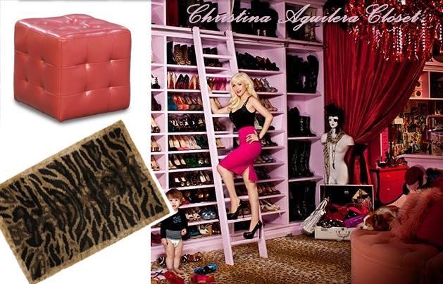 Glamorous Christina Aguilera boutique