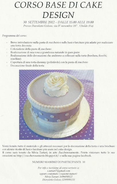 Cake Design Provincia Varese : Zuccherosamente...: Corso base di cake design a Uboldo (Va ...