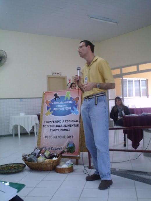 II CRSAN - Prof. Marcus em momento de Debate