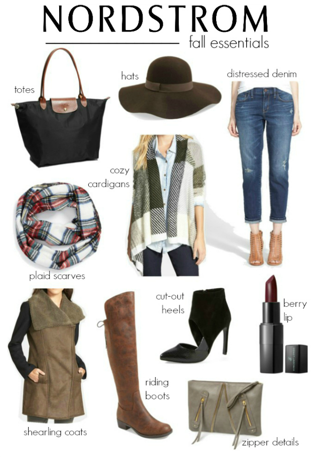 Nordstrom Must Have Fall Essentials