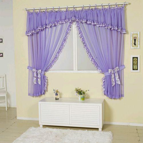 Flor das fadas by f tima nogueira cortinas para quartos - Modelos de cortinas infantiles ...