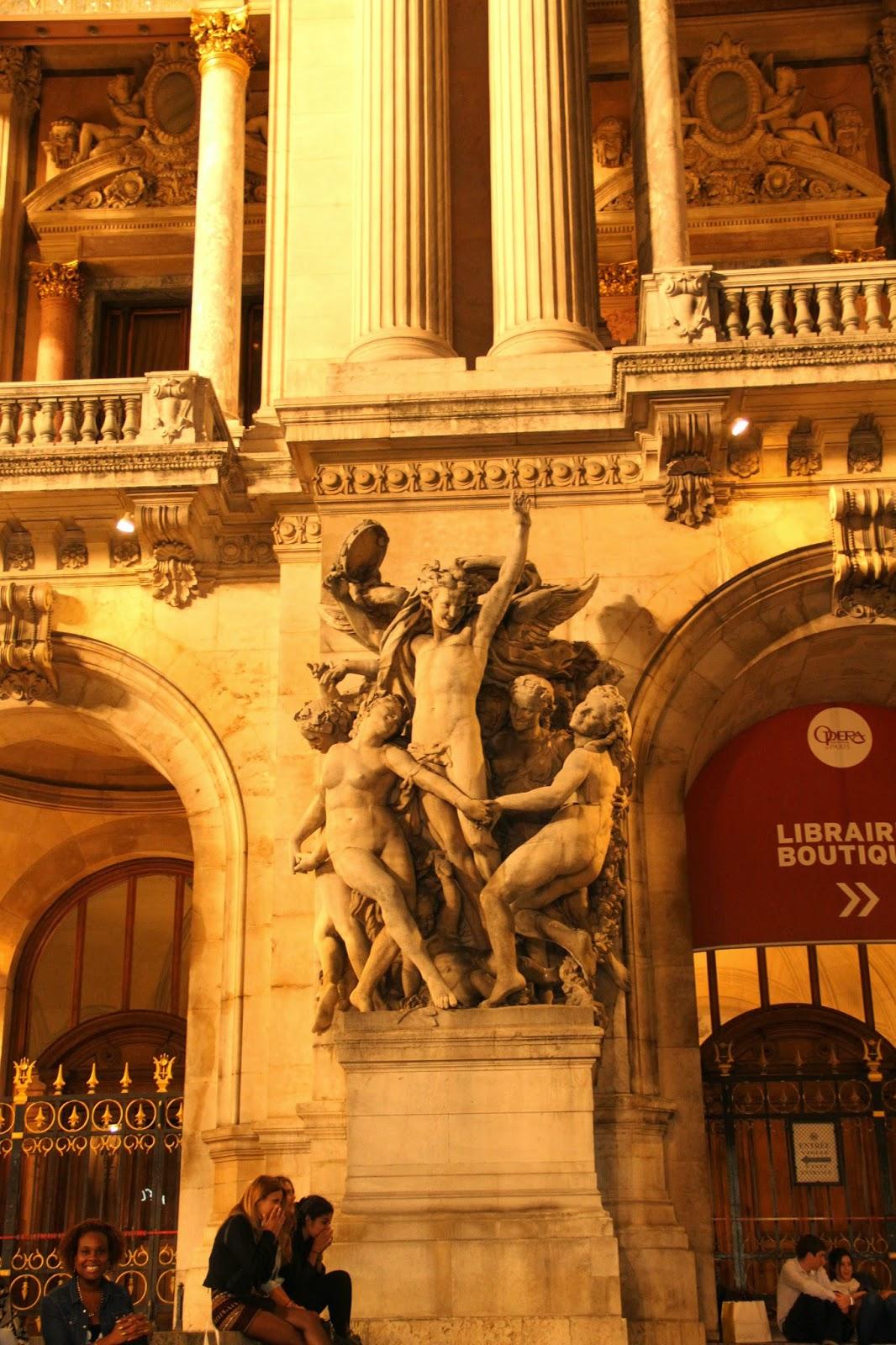 здание оперы в Париже
