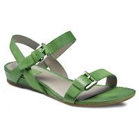 Sandale verzi din piele nubuc Odense