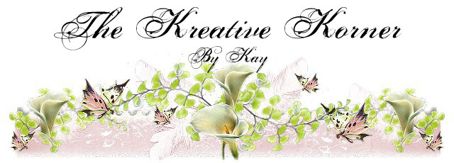 The Kreative Korner By Kay