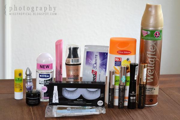 Aufgebrauchte Kosmetik Oktober 2011