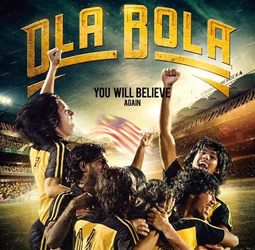 Sinopsis Filem Ola Bola, pelakon dan gambar Filem Ola Bola