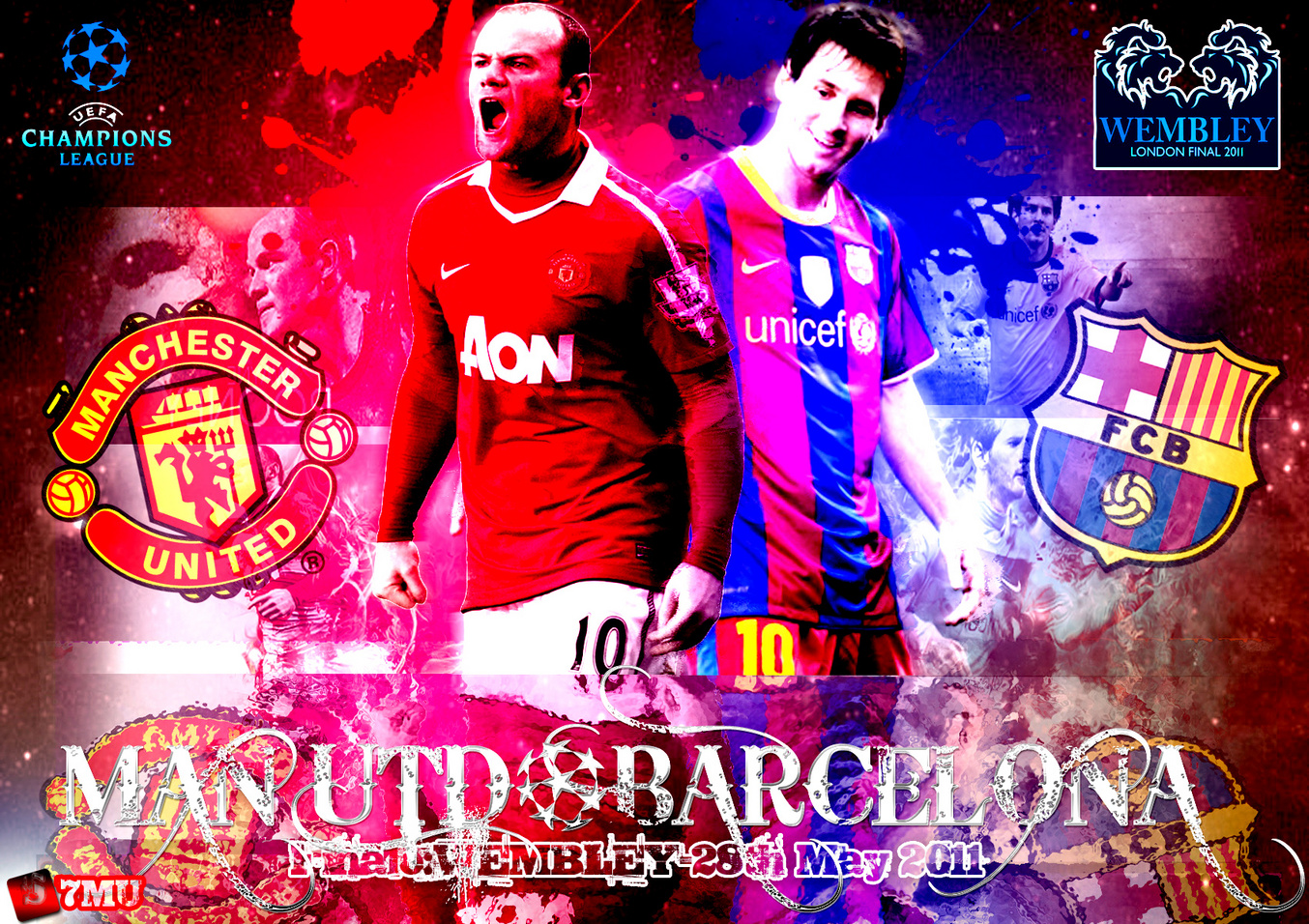 FC Barca Champions League 2011 Wallpaper