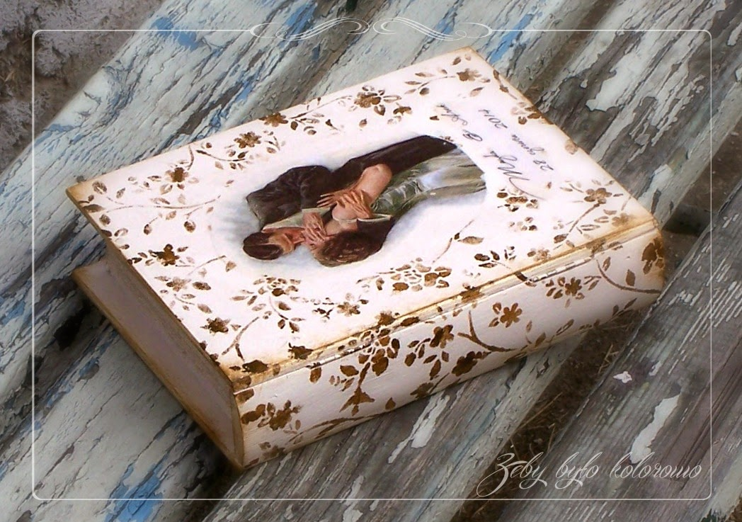 decoupage book