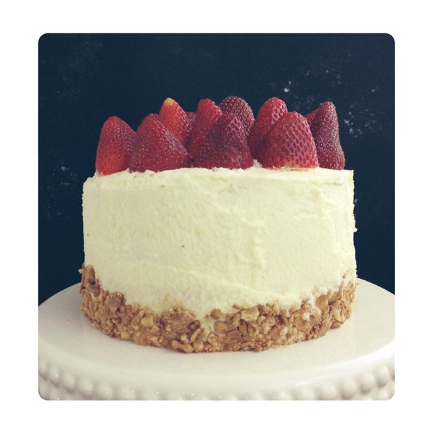 Strawberry Shortcake With Mascarpone Cream Recipe — Dishmaps