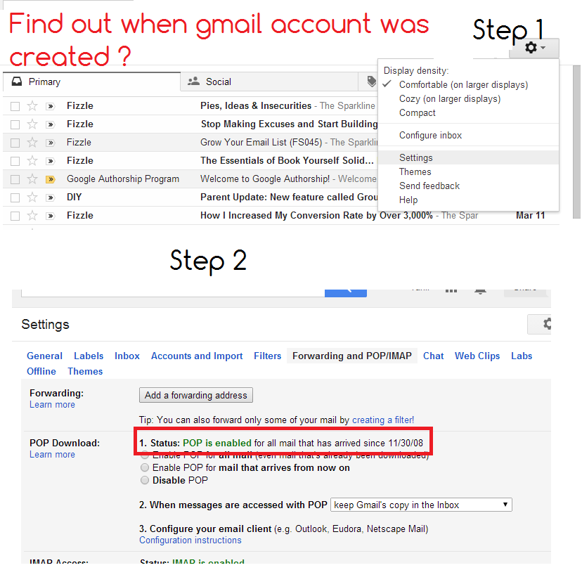 Gmail dating search