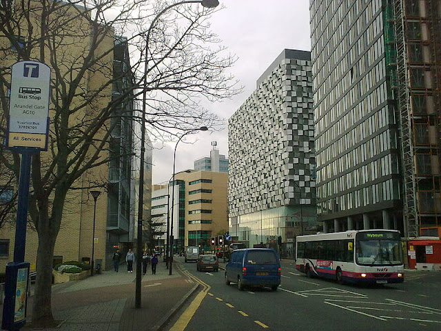 Arundel Gate, Sheffield, Cheese Grater St Pauls Tower