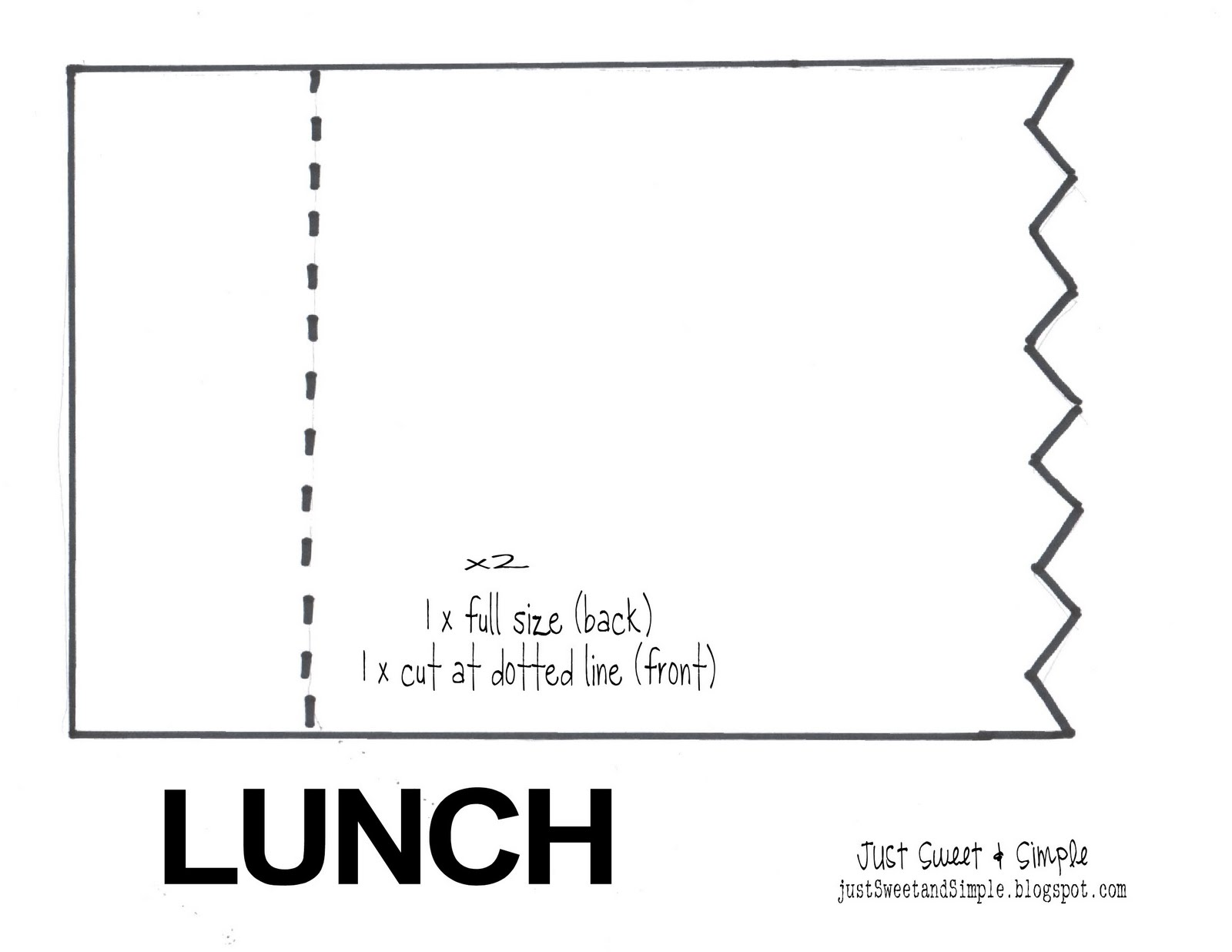 Free Lunch Coupon Template Free Lunch Coupon Template Pasoevolistco 2