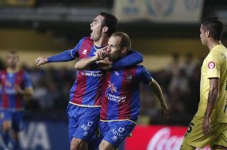 Levante es el líder sorpresivo de la liga Española