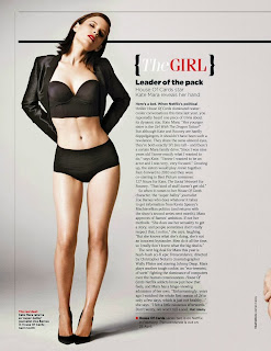 Magazine Photoshoot : Kate Mara Photoshot For GQ Magazine UK February 2014 Issue