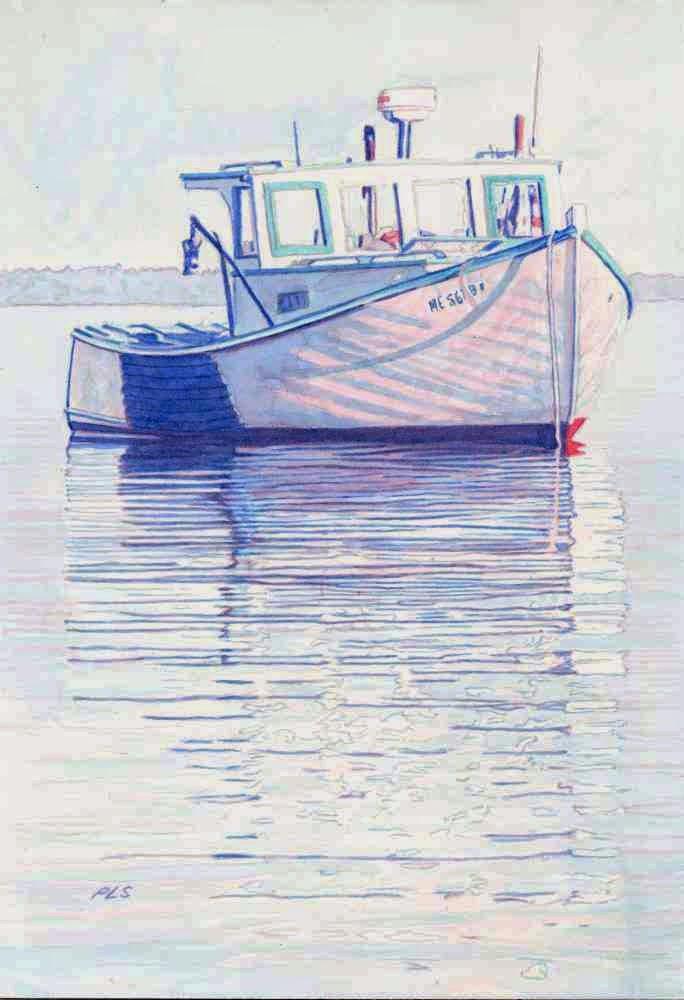 Sarah Louise - Watercolor