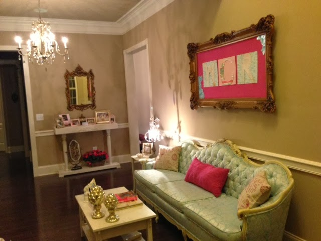 Life In The Barbie Dream House Formal Living Room Makeover