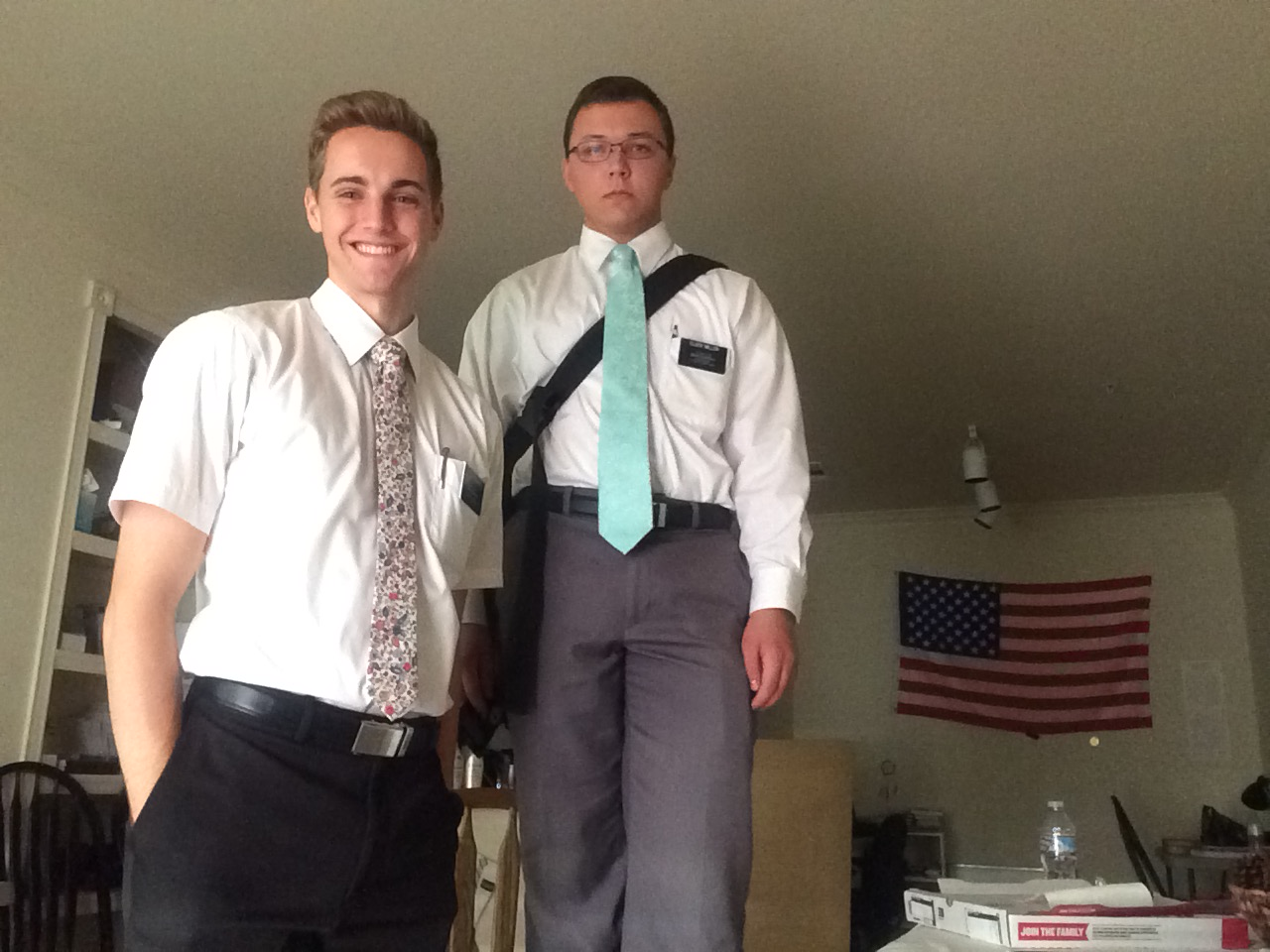 2nd Companion - Elder Miller from Utah