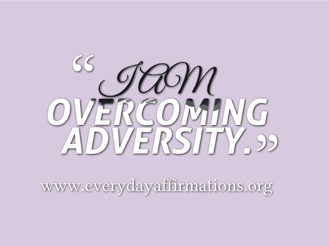 Daily Affirmations - 11 August 2013
