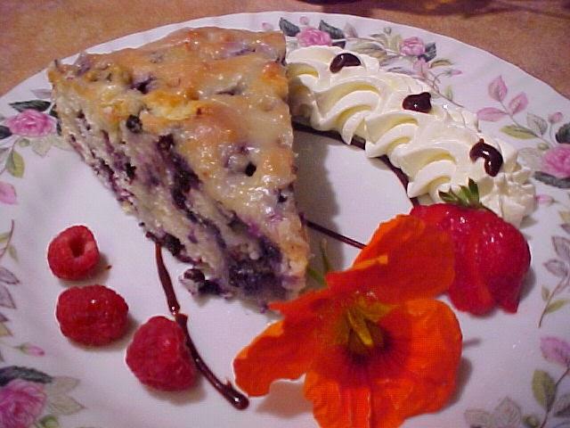 Torte bretonne aux bleuets