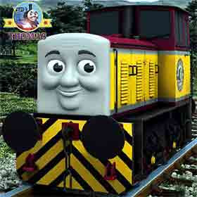 Absolutely fabulous for a child familiar with newer Thomas and friends character wooden railway toys