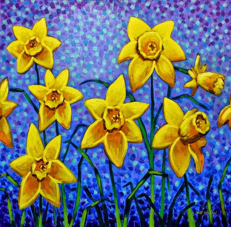 cuadros-de-flores-en-arte-pop