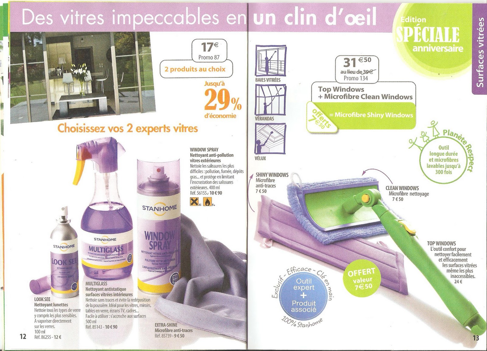 produits stanhome et kiotis catalogue de promotions du 28 mars au 25 avril 2011. Black Bedroom Furniture Sets. Home Design Ideas