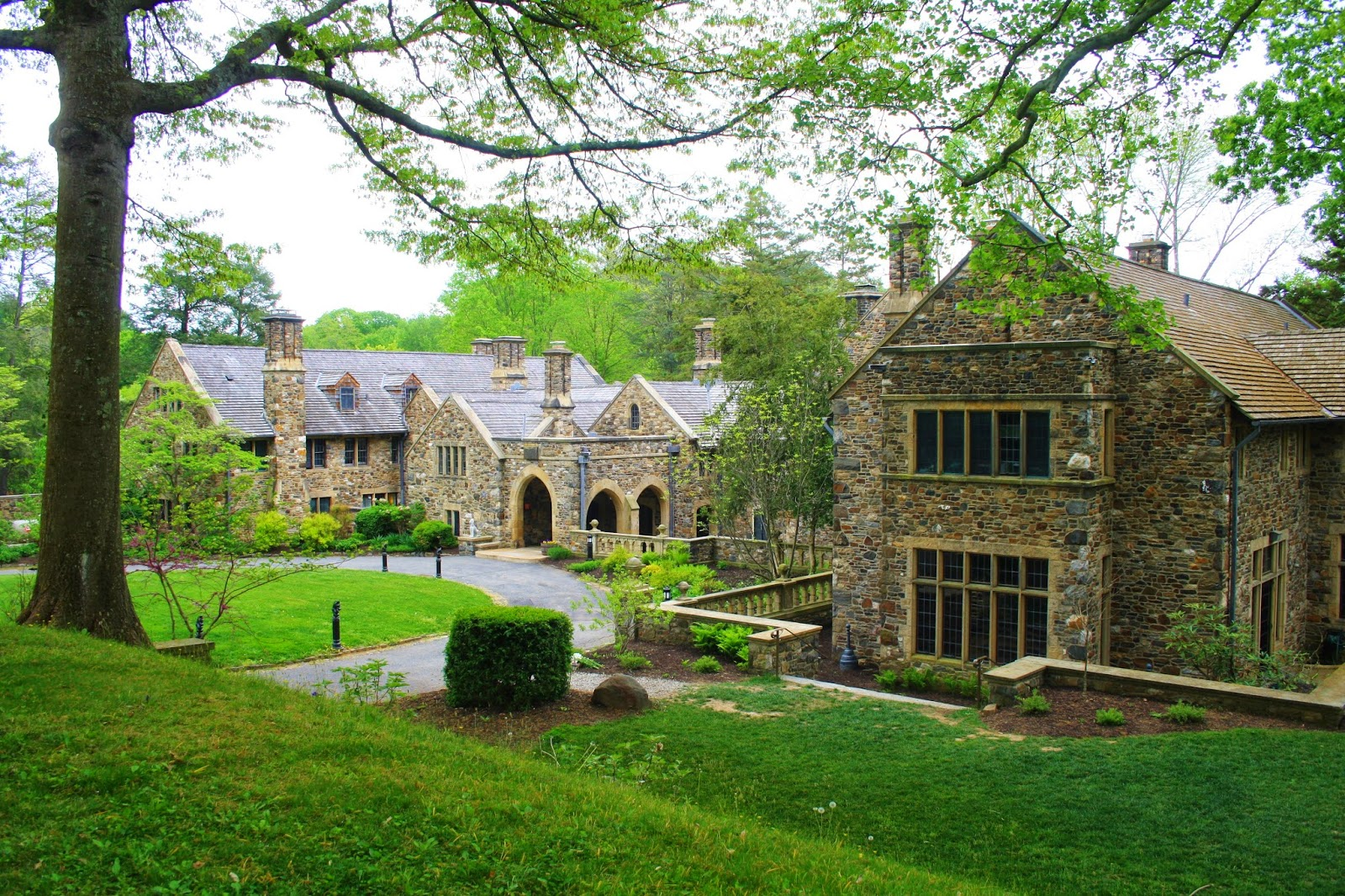 Jeffords Estate Build Around A German Colonial Stone Farmhouse Ridleys Creek State Park