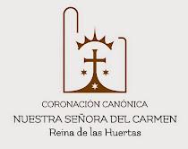 """Logotipo de la Coronación Canónica de Ntra. Sra. del Carmen """"Reina de las Huertas"""