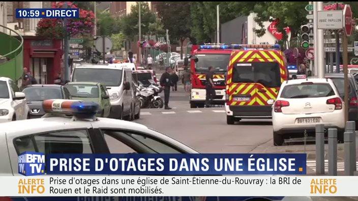 Νέο σοκ στη Γαλλία: Ισλαμιστές αποκεφάλισαν ιερέα και πιστό σε εκκλησία