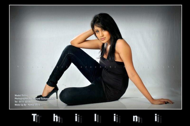 Thilini Amarasooriya blue jeans