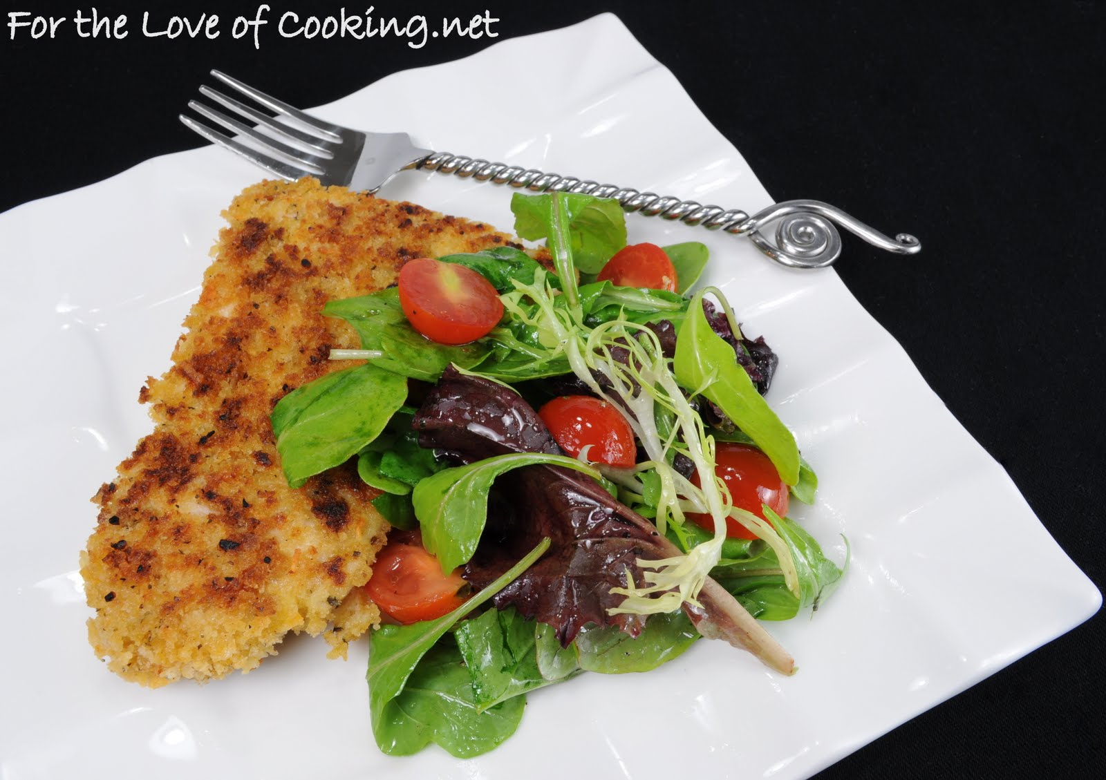 ... rolls with chicken floss chicken milanese with spring greens recipe