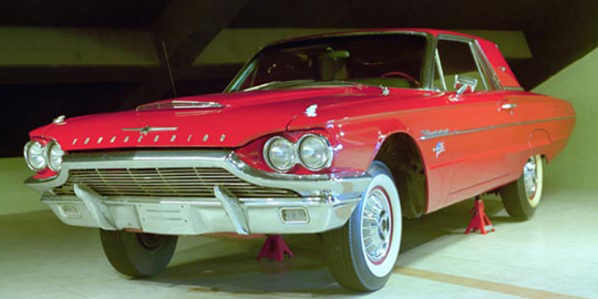 Ford Thunderbird milik RI 1 Presiden Soekarno