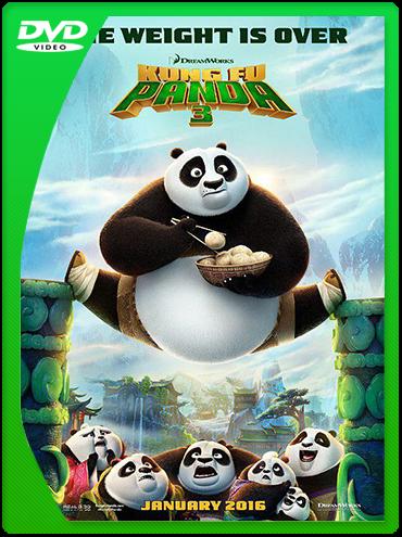 Kung Fu Panda 3 (2016) DVDRip Latino