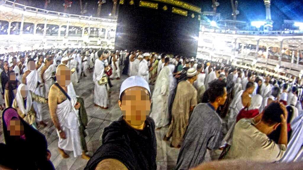 Selfie Didalam Masjidil Haram Bolehkah