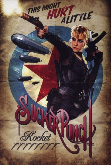 Retro Sucker Punch Rocket - Posters Retro de Sucker Punch