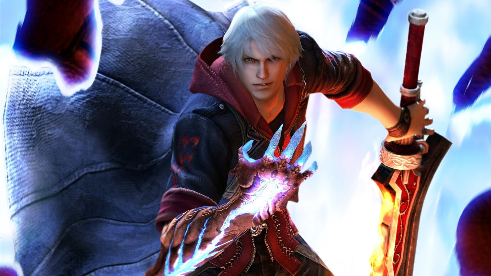 Nero Devil May Cry 4 HD Wall Wallpapers - HD Wall Wallpapers
